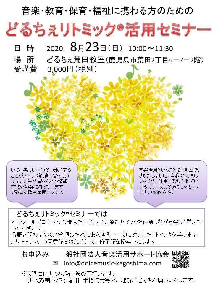 2020.8.23どるちぇリトミック活用セミナー